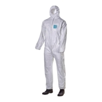 Disposable Coveralls Microguard White Size. XL