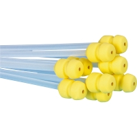 Catheter yellow rounded end 550 mm.  500 pcs.