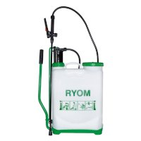 Back sprayer Ryom. blue 16 litres. without motor.